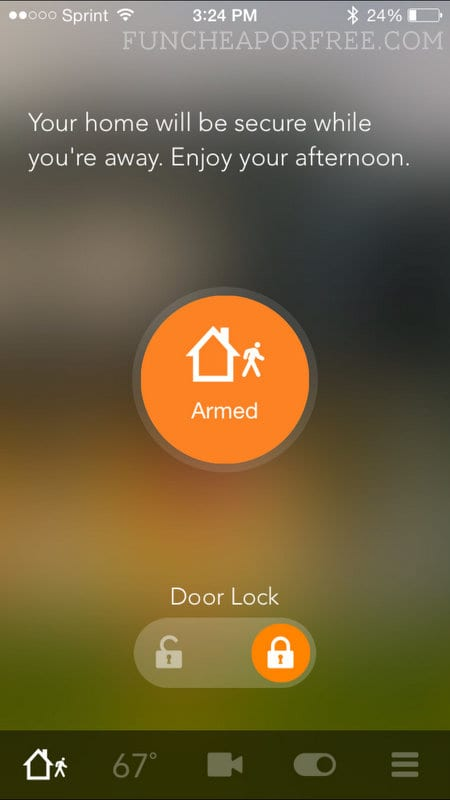 $500 off Vivint security system!