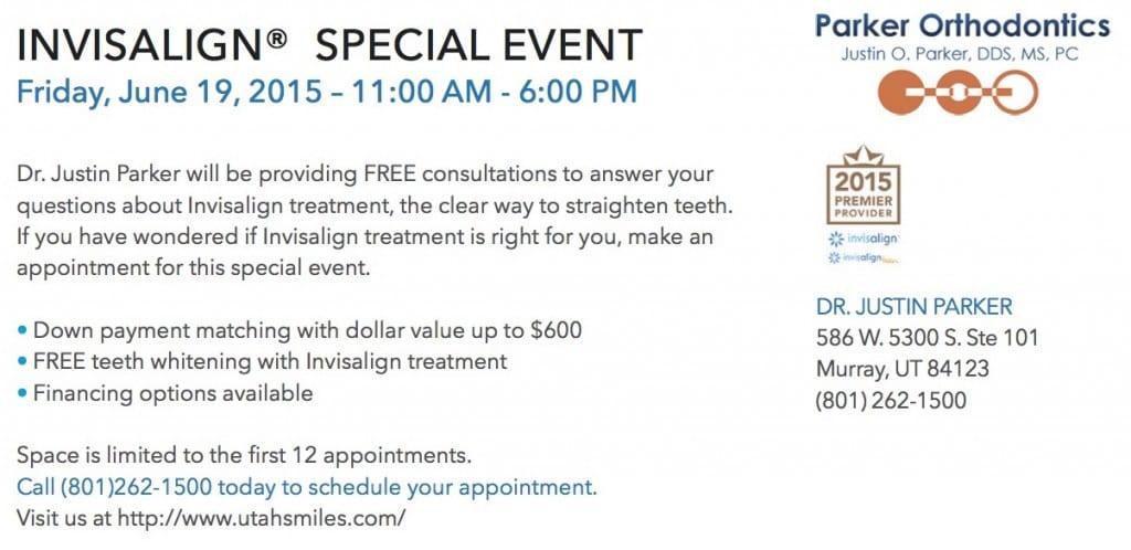 Free Invisalign consultation!