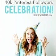 Pinterest Followers Giveaway