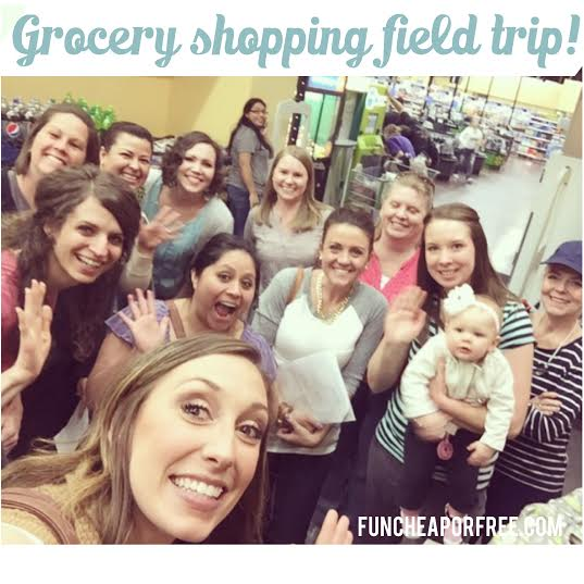 Grocery shopping field trip with a frugal living expert! UTAH - FunCheapOrFree.com