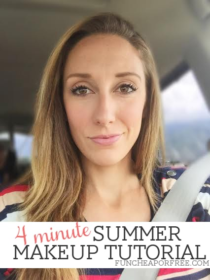 4-minute Summer Makeup