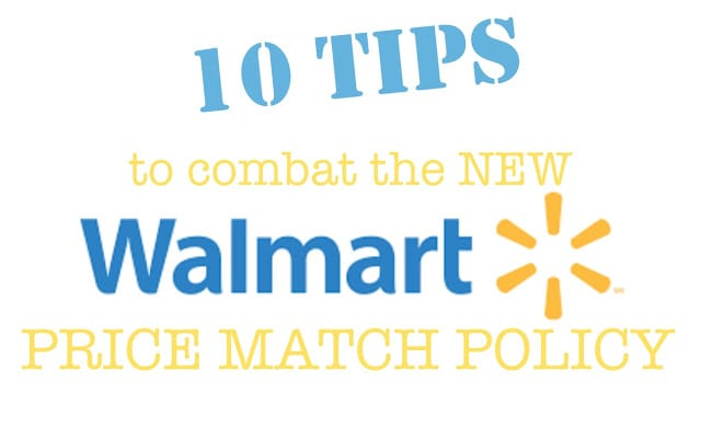 how to combat Walmart's new price-match policy!