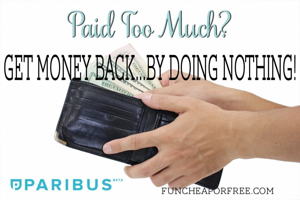 Paid Too Much? Get Money Back...by Doing NOTHING! No joke.