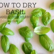 How to Dry Basil (and Other Herbs)