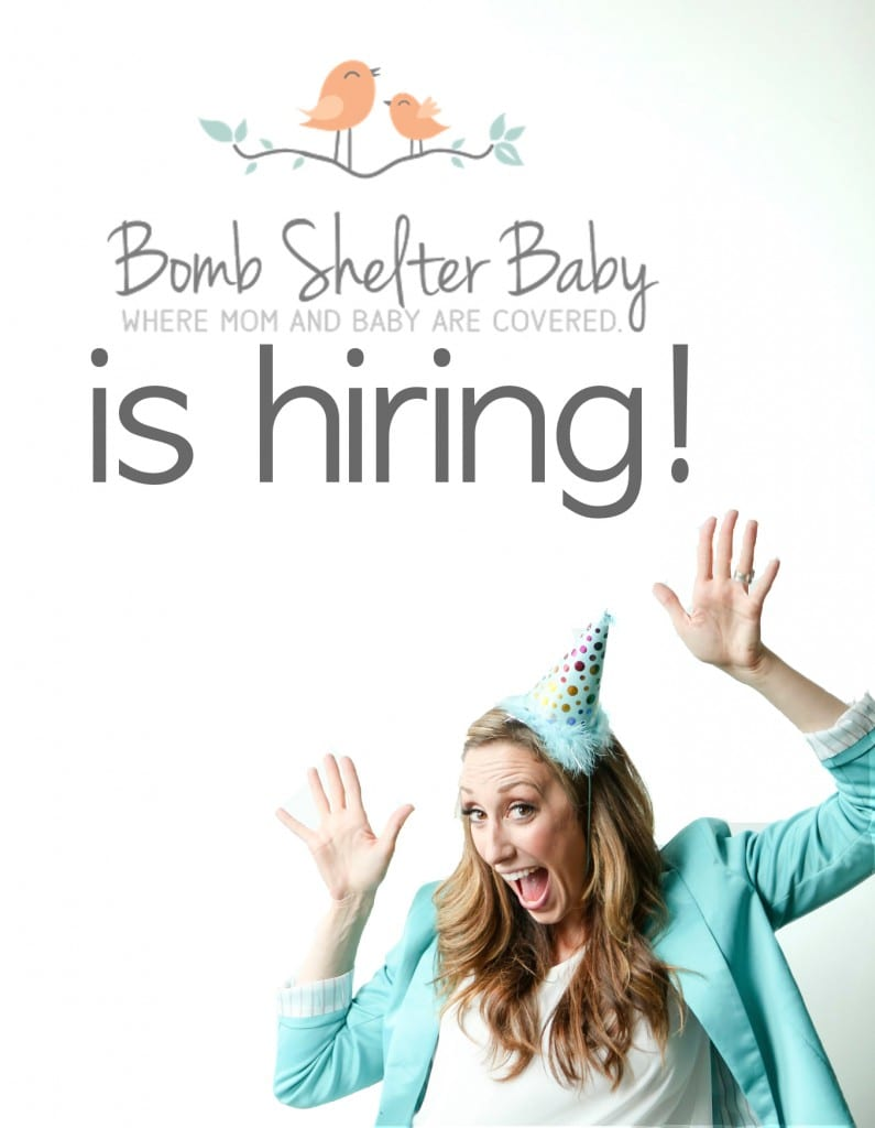 Bomb Shelter Baby is looking for a creative director!