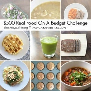 How to Spend just $500 a month for a Family of 6: WHOLE, ORGANIC, and ALLERGEN-FREE food!