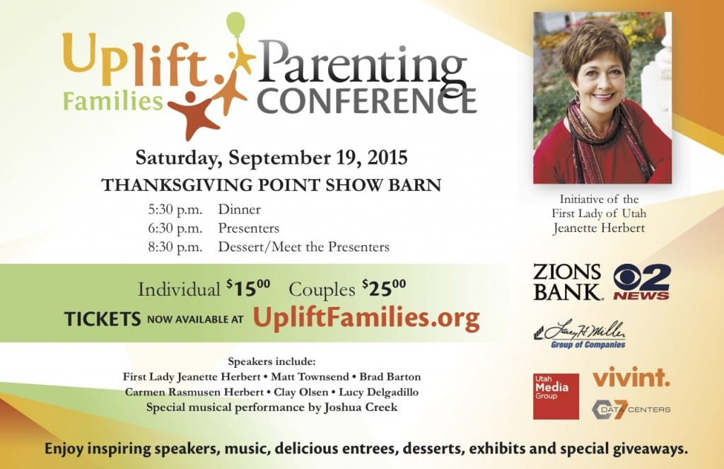 Uplift families dinner - $5 off with code FUN2015