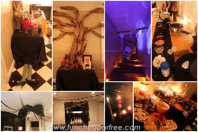 TONS of fun, cheap, or free, Halloween party ideas