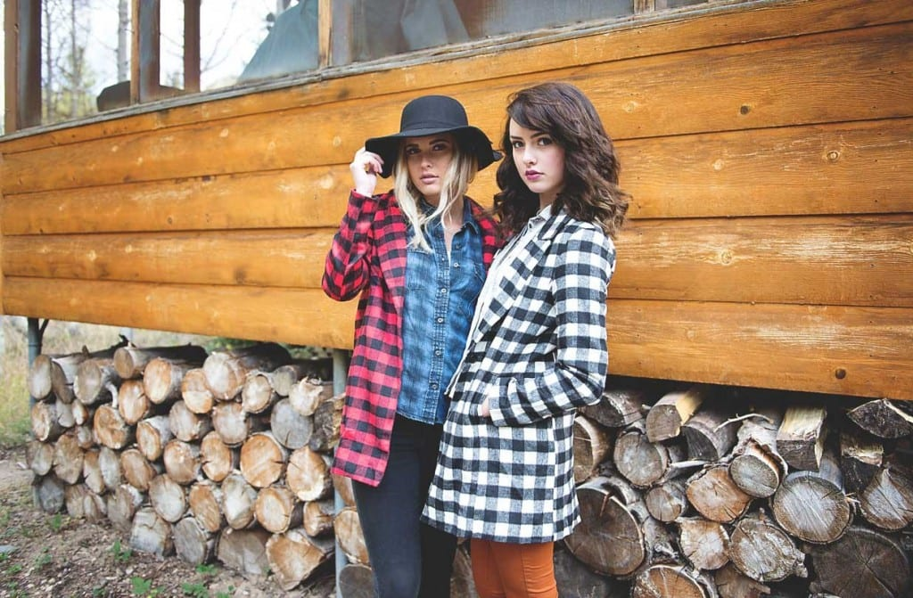 Buffalo plaid jacket only $34.99, reg $59.99!