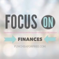 Focus on Finances November Challenge – Join Jess and Jordan!