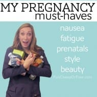 My Pregnancy Must-Haves! (#FindYourHealthy)
