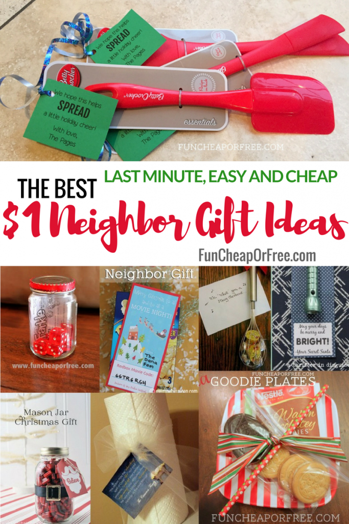 25 Easy 1 Neighbor Gift Ideas So Cute And Clever From FunCheapOrFree