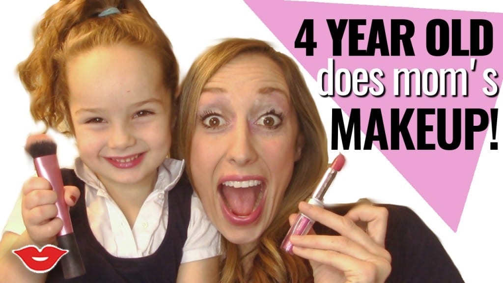 Makeup tutorial from a 4 year old. Cutest thing ever, you HAVE TO watch this!