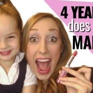 Makeup Tutorial…from a 4 year old :)