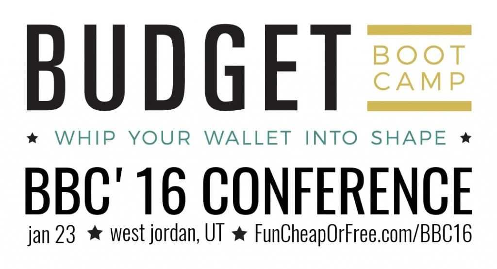 Funnest money-saving conference EVER! Tickets are only $10.99 with the code TRYME, hurry! FunCheapOrFree.com/BBC16