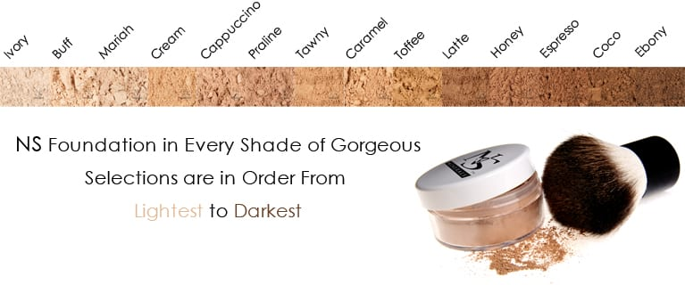 10% off NS Minerals makeup with the code FUNCHEAP!