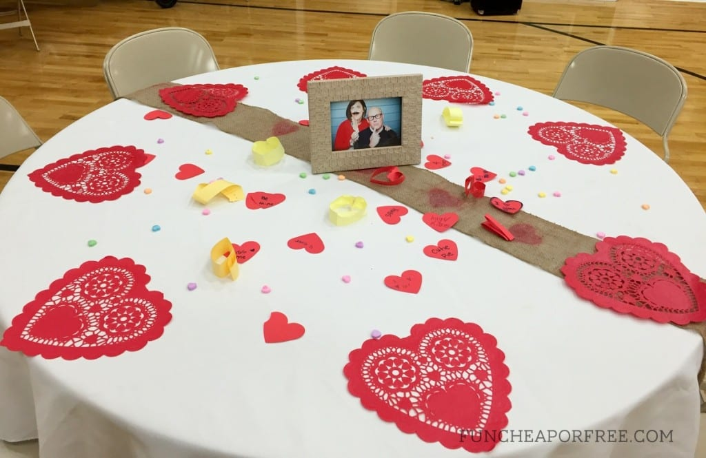 How to throw a ward valentine's day party on a $0 budget, in just a few days! From FunCheapOrFree.com