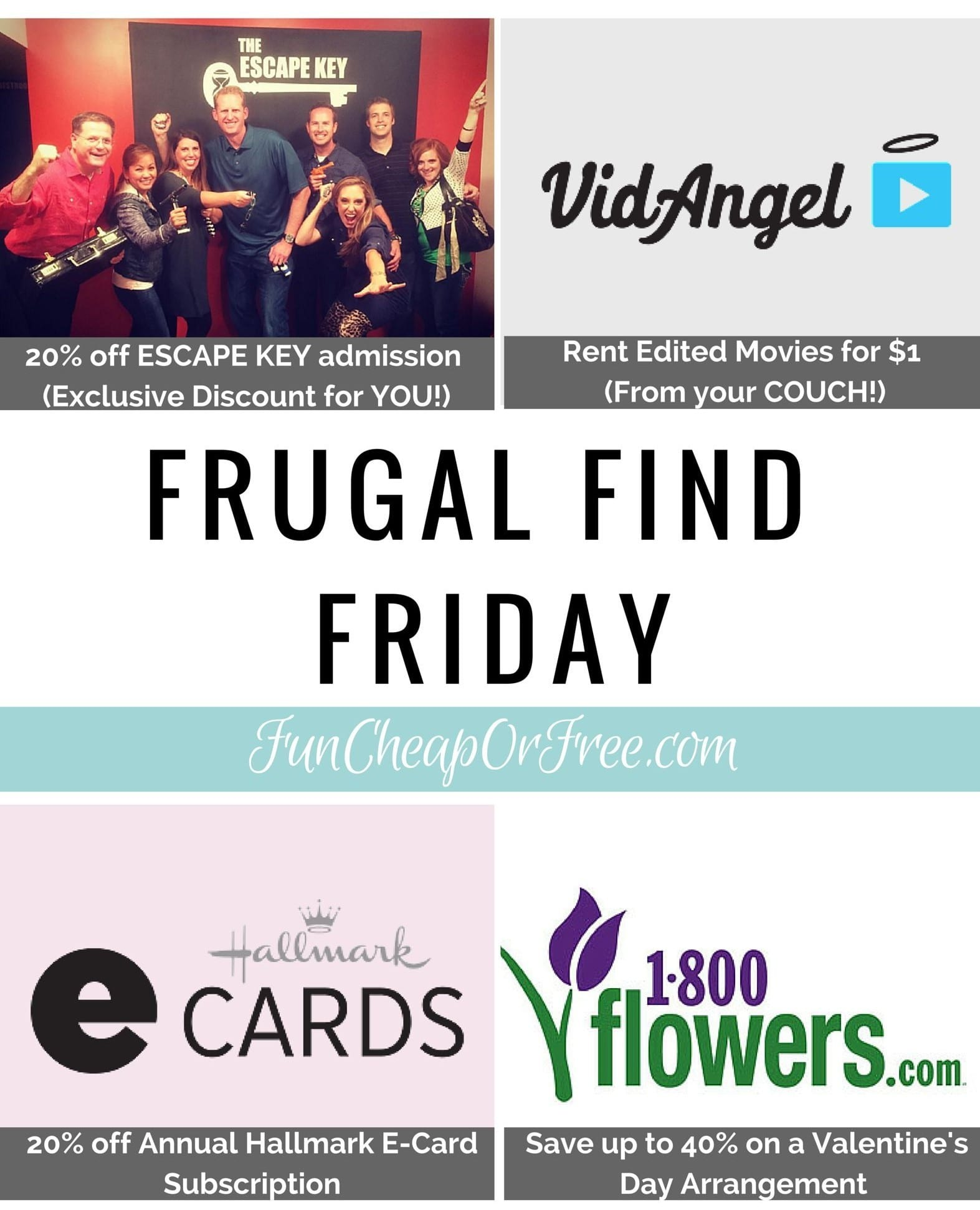 Frugal Finds for Date Night! Have you planned Valentine's Day with your sweetie? We can help! www.FunCheapOrFree.com