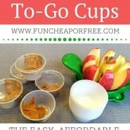 DIY Peanut Butter To-Go Cups! Easy On-The-Go Snack [Foodie Tuesday]