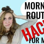 10 Morning Hacks for Moms (PLUS – FREE Printable Morning Chore C..