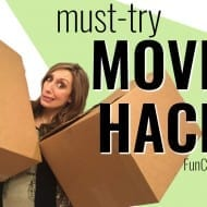My BEST Moving Hacks!