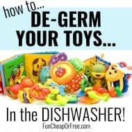 Cleaning Hack: Disinfect Toys in your DISHWASHER! [Winter Sickness Bus..