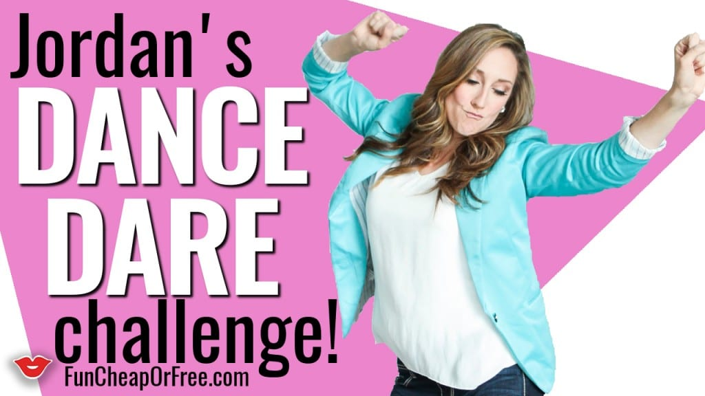 I challenge YOU to a Dance Dare! See what it's all about - www.FunCheapOrFree.com