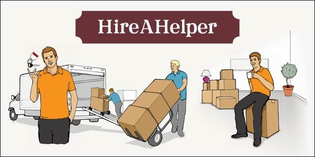 HireAHelper is your one-stop-shop to find the best moving professionals in your area! They manage the process, so you don't have to. Best. Investment. Ever! Never move yourself again!! www.FunCheapOrFree.com