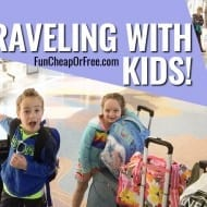 Tips for Traveling with Kids!