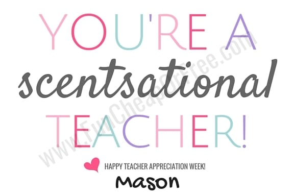 No-fuss, easy teacher appreciation gifts (or end of the year gifts!) - all you need is a gift card, and one of our FREE printables! www.FunCheapOrFree.com