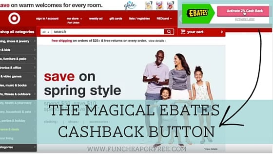 Get paid for shopping online! It's easy, it's free, and there are no catches... SERIOUSLY! Ebates is the magical online site that pays you to shop! www.FunCheapOrFree.com