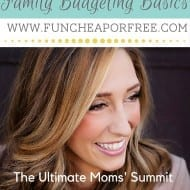 The Ultimate Moms' Summit: My FREE Online Budgeting Class