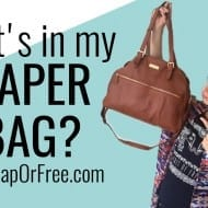 What's in my diaper bag? (+ how to afford a NICE bag or purse!)