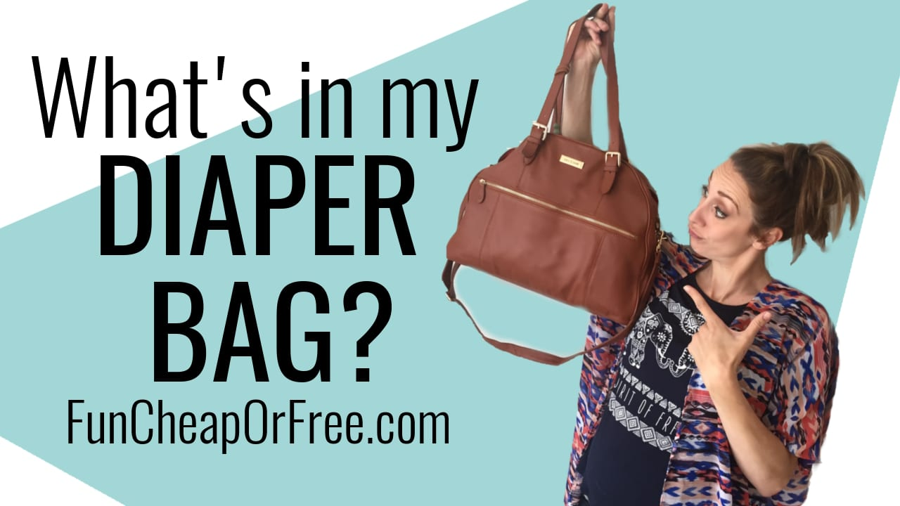 What's in my bag? Keeping an organized diaper bag is tough... I can help! I am sharing what I carry with me all.the.time (and how I keep everything neat & tidy!). www.FunCheapOrFree.com