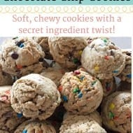 Chocolate Chip Cookies Recipe (with a secret ingredient!)