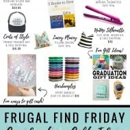 Graduation Gift Guide! (Clever ideas + exclusive discounts and deals!)