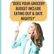 Does grocery budget include eating out? + Grocery budget tips! [Ask Me..