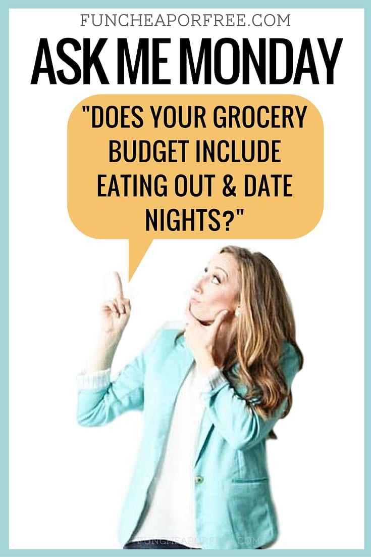 Ask me Monday! You send in your lifestyle, parenting, frugal living (or any other burning subject!) question, and I will pick one, and answer! Get the scoop, www.FunCheapOrFree.com