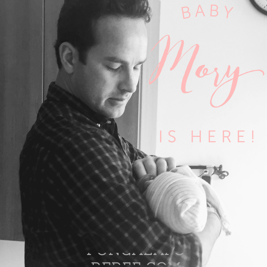 Baby Mory's birth story! From FunCheapOrFree.com