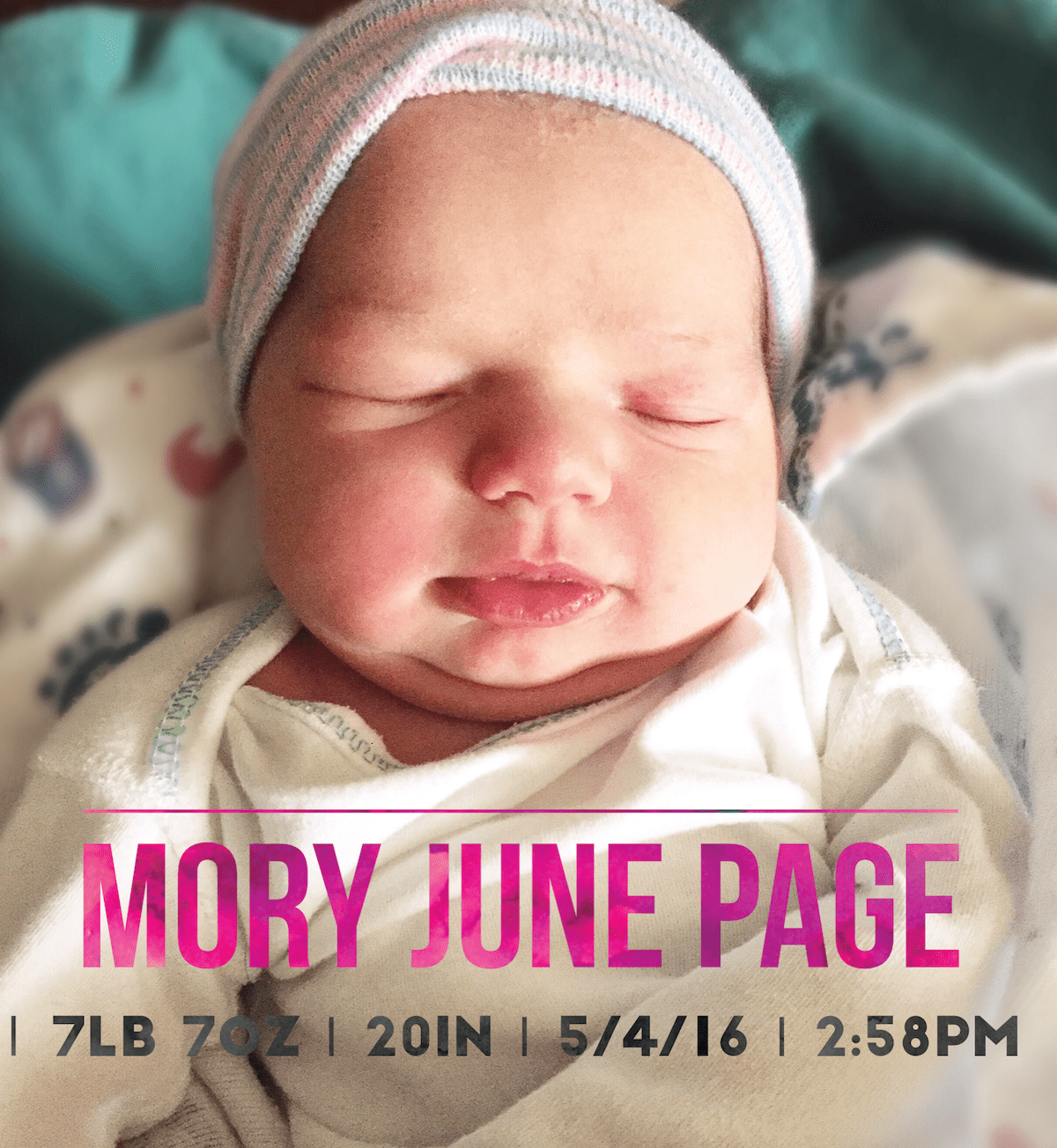 Mory June Page