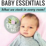 My Must-Have Baby Essentials (…my excuse to plaster Mory's..