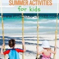 100 Fun, Cheap, or Free Summer Activities for KIDS! + Free Printable!