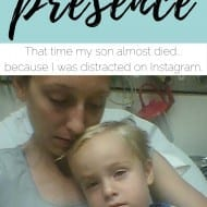 That time my son almost drown because I was on Instagram. [The Gift of..