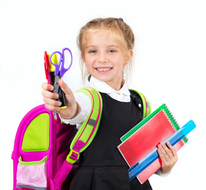 How much to spend on back-to-school shopping, and how to afford it! From FunCheapOrFree.com