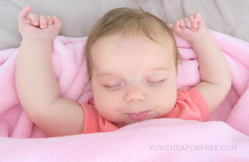 how to get your baby to sleep! Great tips and tricks from FunCheapOrFree.com