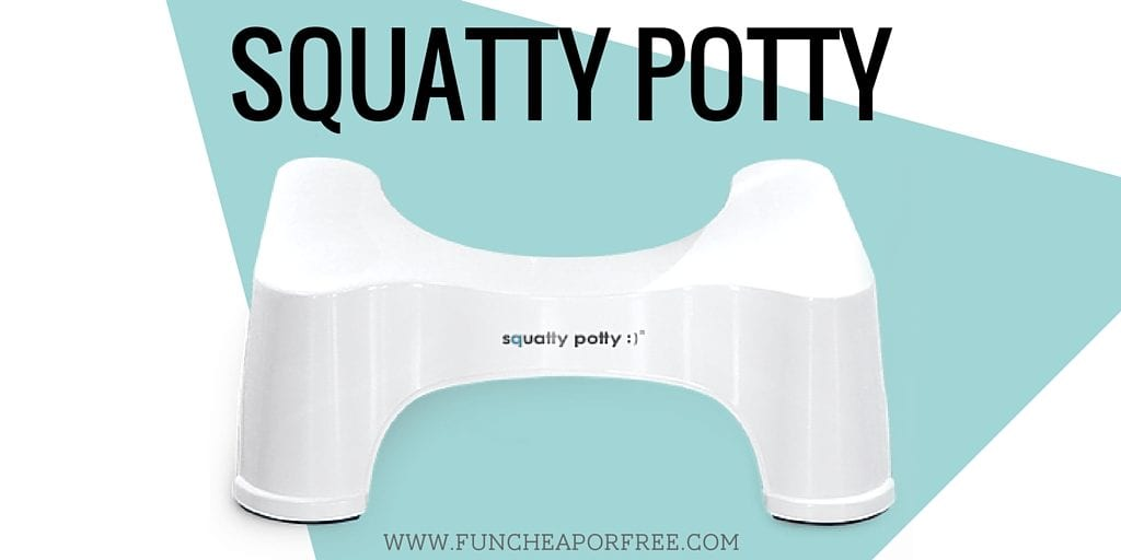 Potty training hacks and tips to get your toddler trained and keep you sane. www.FunCheapOrFree.com
