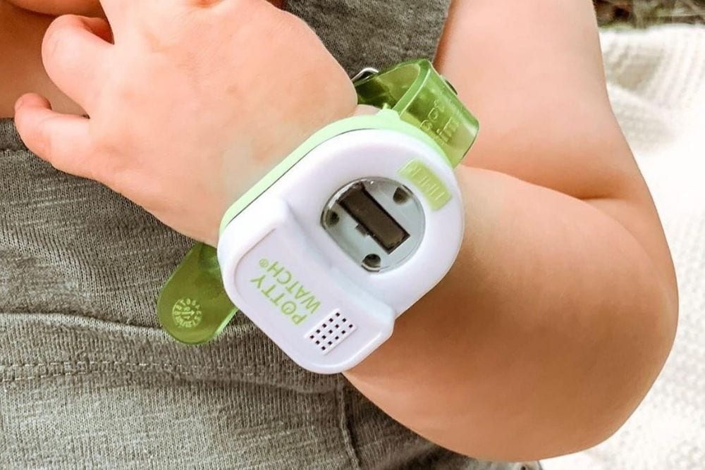 Potty Watch for potty training, from Fun Cheap or Free