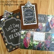 First and Last Day of School Printables!