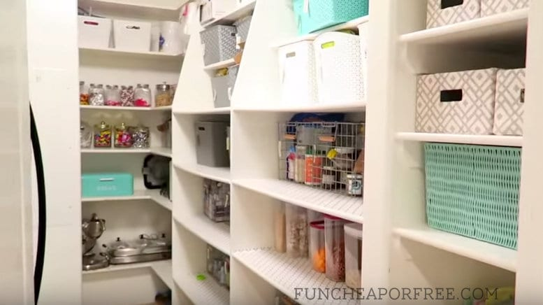 See how to organize your pantry, what to stock it with, and all my best grocery shopping tips and tricks! www.FunCheapOrFree.com