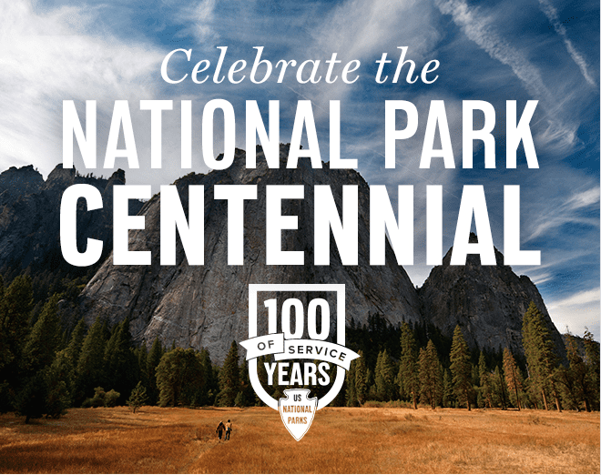 Today, August 25th, is the 100th birthday of the National Parks Service! Celebrate their centennial birthday by visiting any national park for free today! Visit www.FunCheapOrFree.com for details!